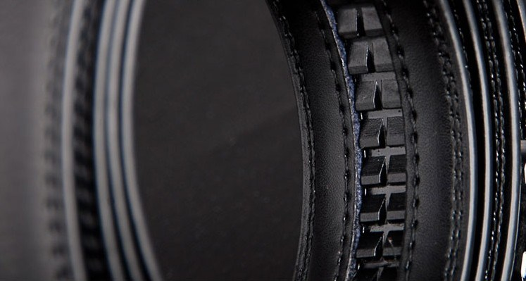 Men Black Leather Belts (A5-130703)