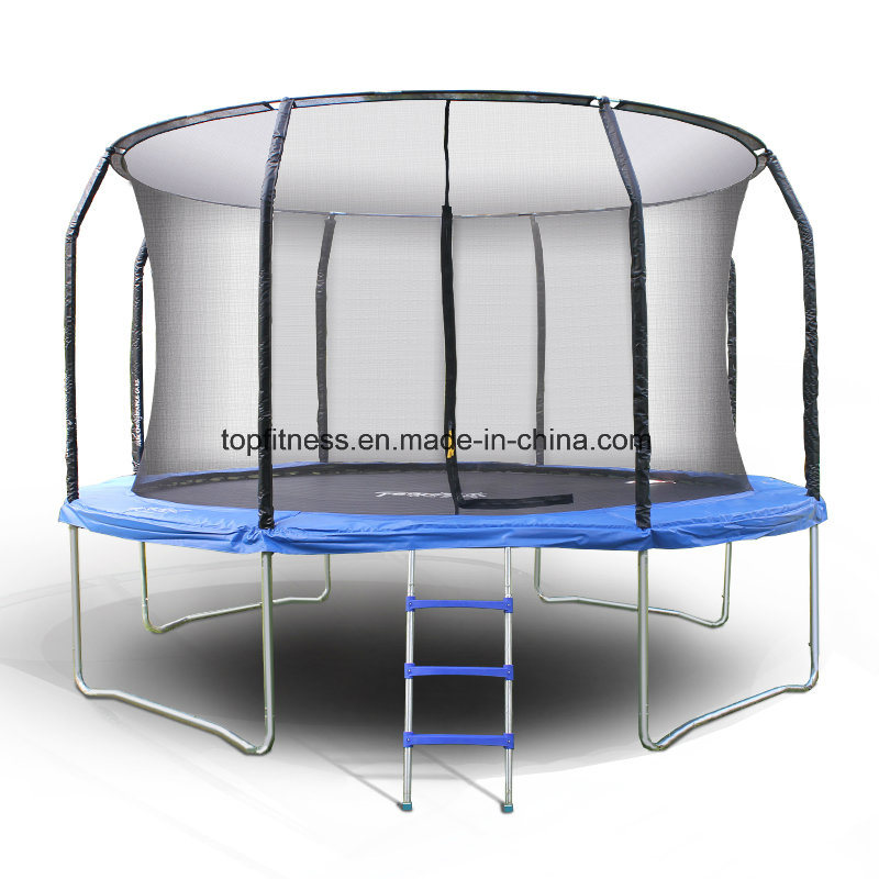 Kids Outdoor 12FT Strong Trampoline with Sadety Net