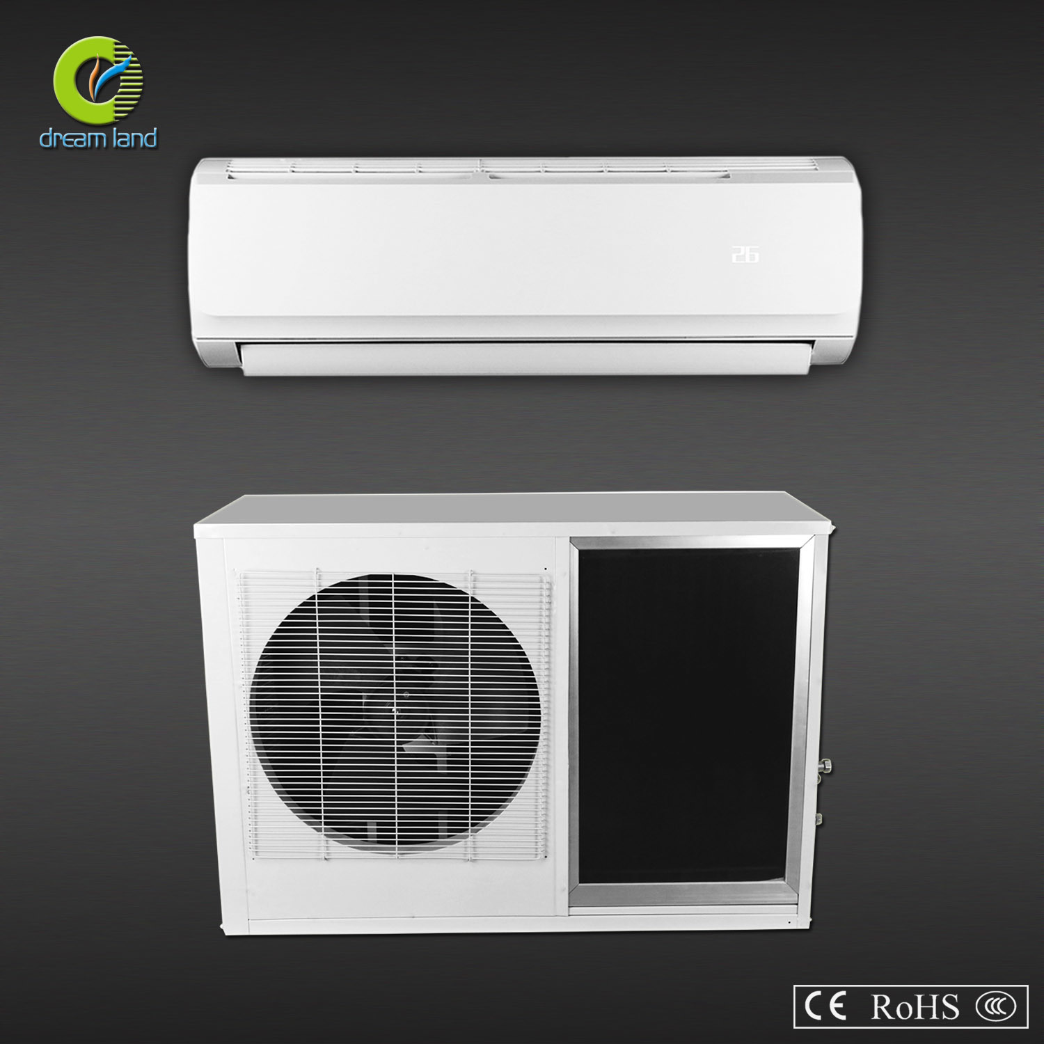 Entirety Outdoor and Solar Panel Design Air Conditioner (TKFR-35GW-A)