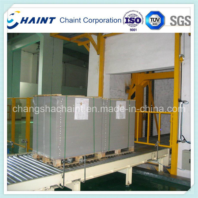 Pallet Conveyor System with Roller Conveyor