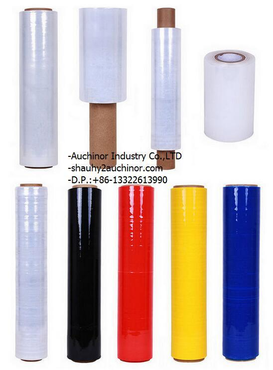 Color Stretch Film for PE Material Used in Packaging or Pallets