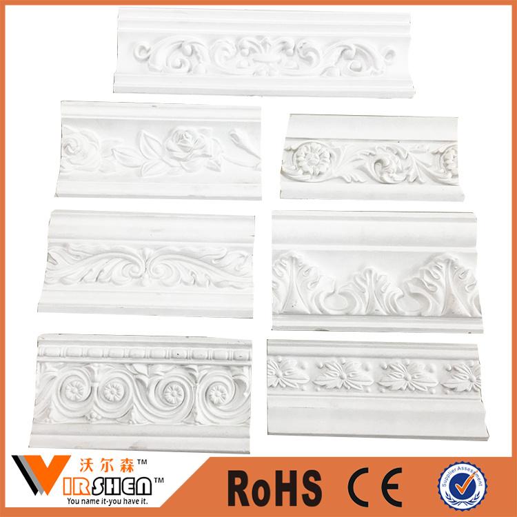 China Cheap PU Cornice Moulding Decorative Ceiling Cornice Factory