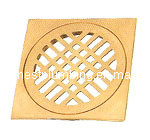 High Quality Shower Square Full Brass Floor Drain