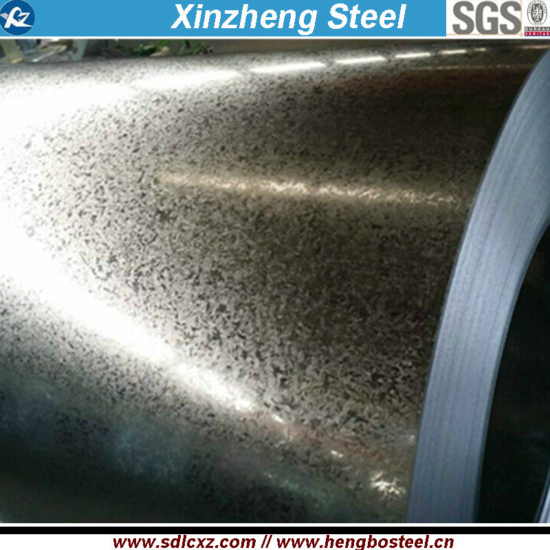 0.15-0.8mm Cold Rolled Galvanized Steel Coil for Building Material