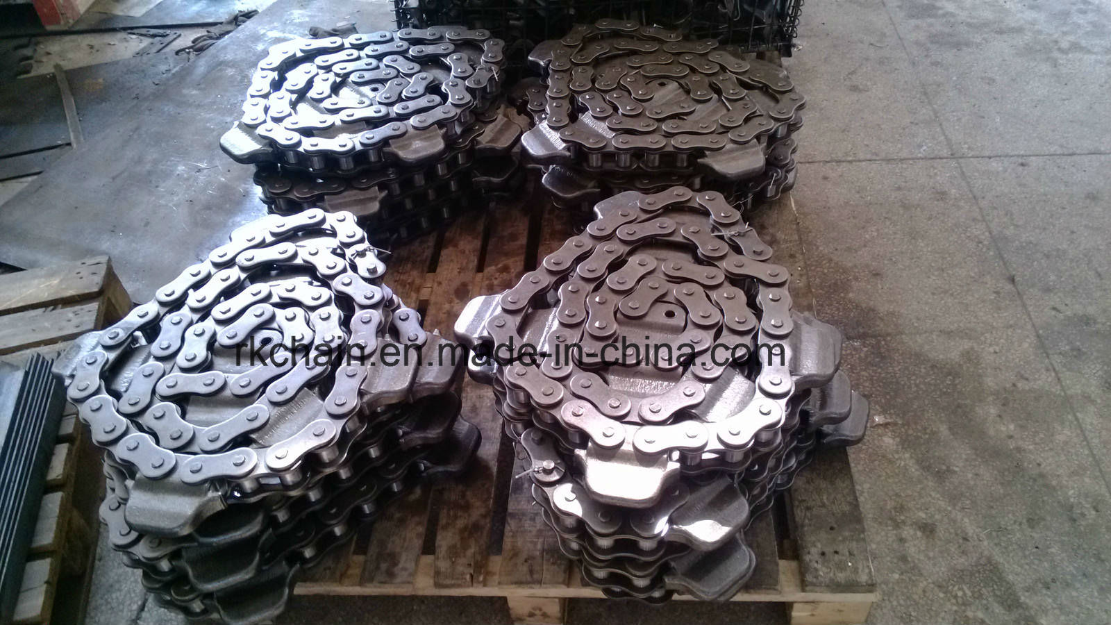Caterpillar Driving Transmission Chain for Conveyor System