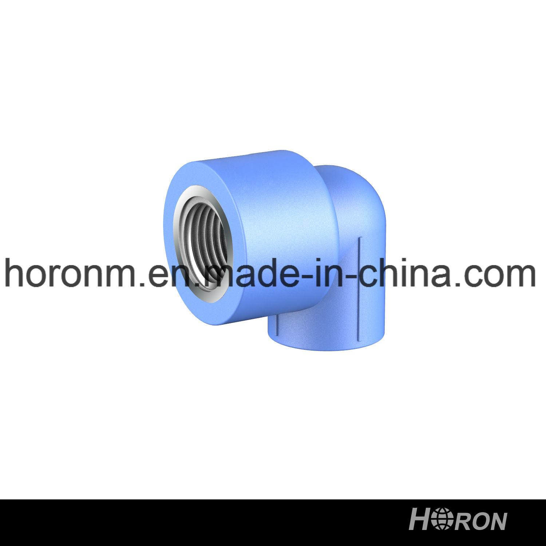 Water Pipe-PPR Fitting-PPR 90 Deg Elbow-Blue PPR Famale Thread Elbow-PPR Thread Elbow-Elbow