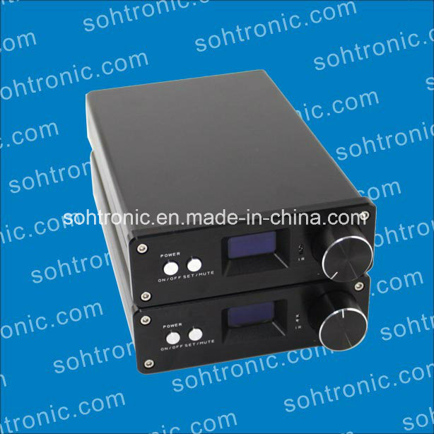 Sta326 OLED 2.0 Channel Amplifier USB Fiber Coaxial Amplifier