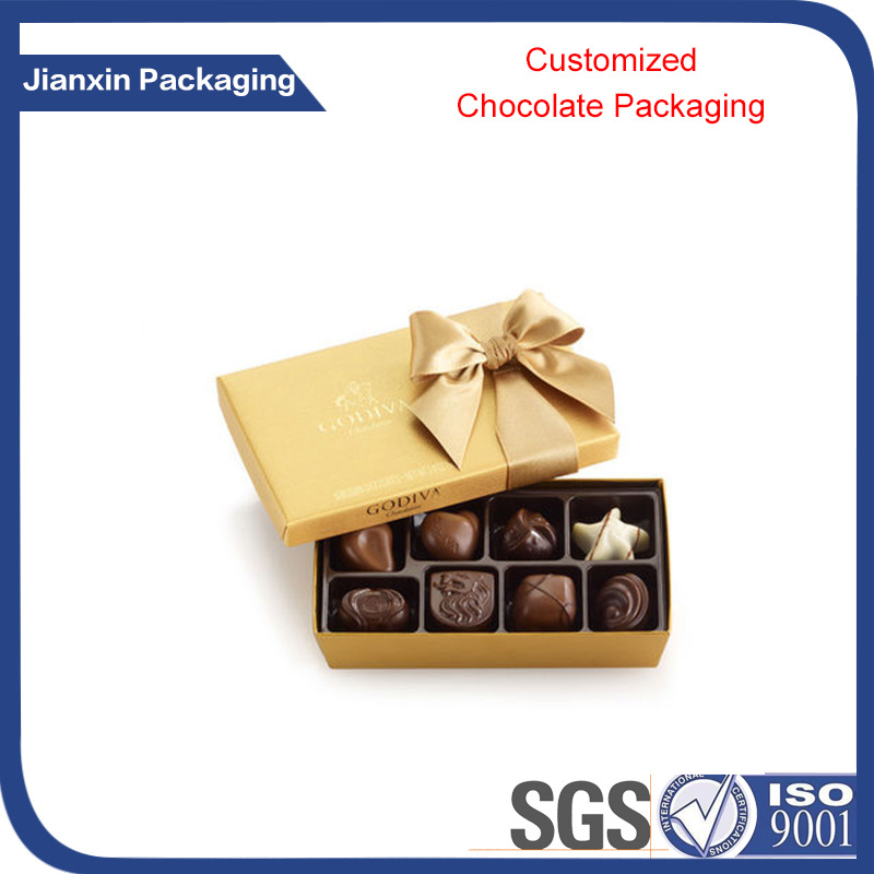 Customized Plastic Chocolate for Chocolate Packaging