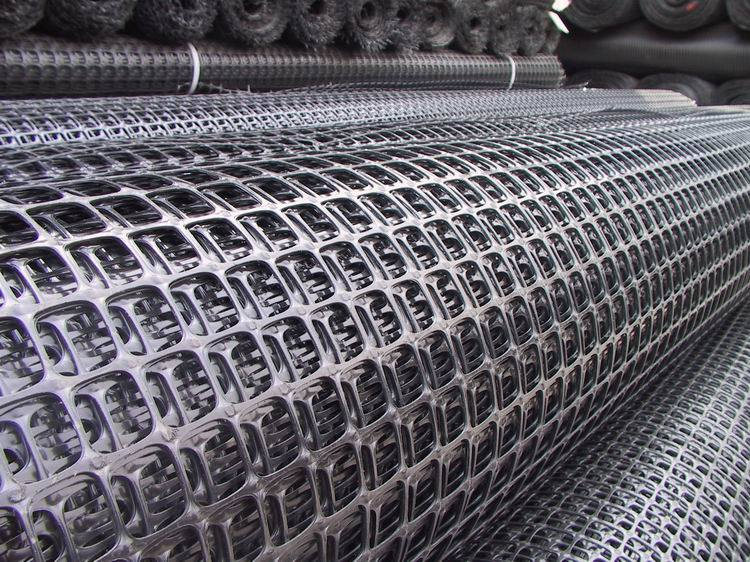 Biaxial PP Geogrid, Biaxial Plastic Geogrid for Foundation Reinforcement