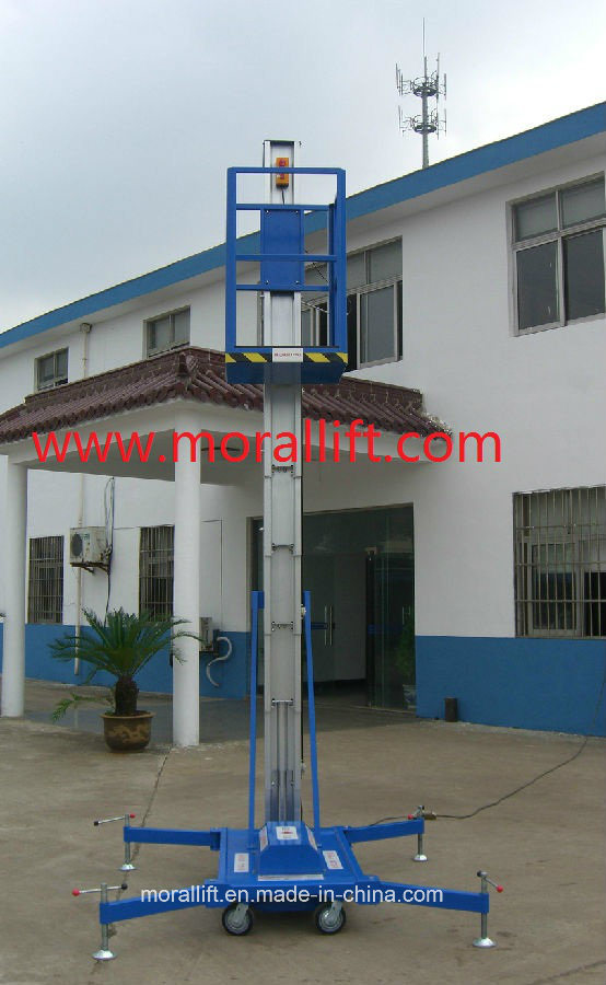 Aluminum Aerial Platform Work Lift with CE Certificate