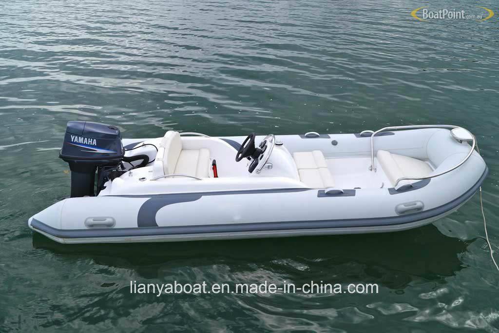 Liya 43m Small Fishing Yacht Cheap Foldable Boat Rib Inflatable Boats China