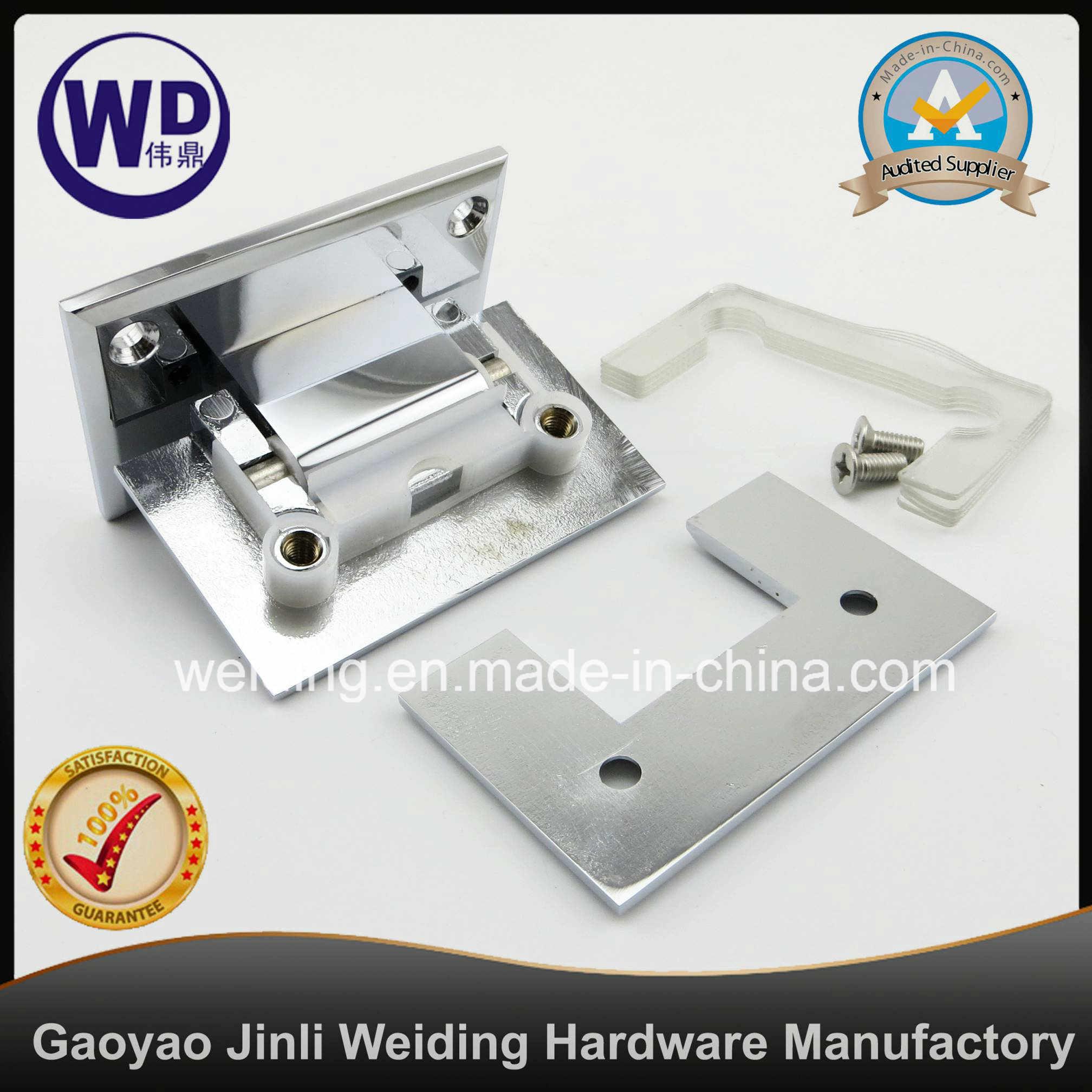 Standard Duty Glass Mount Shower Hinge/ Wt-5703h