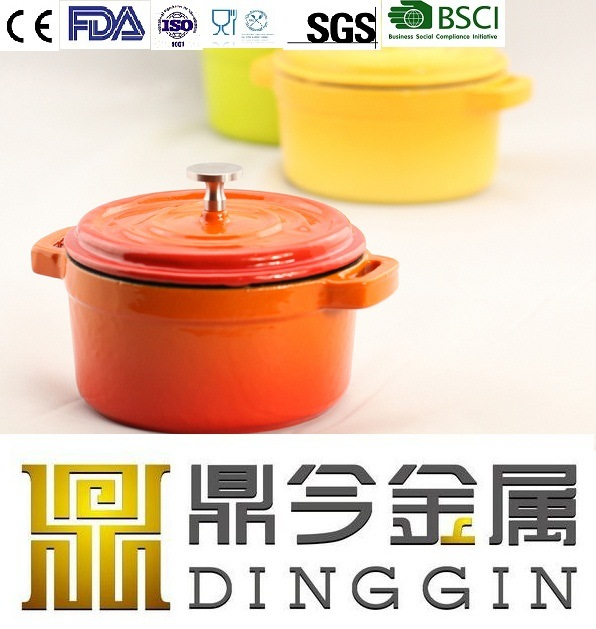 Cast Iron Enamel Pot Cookware
