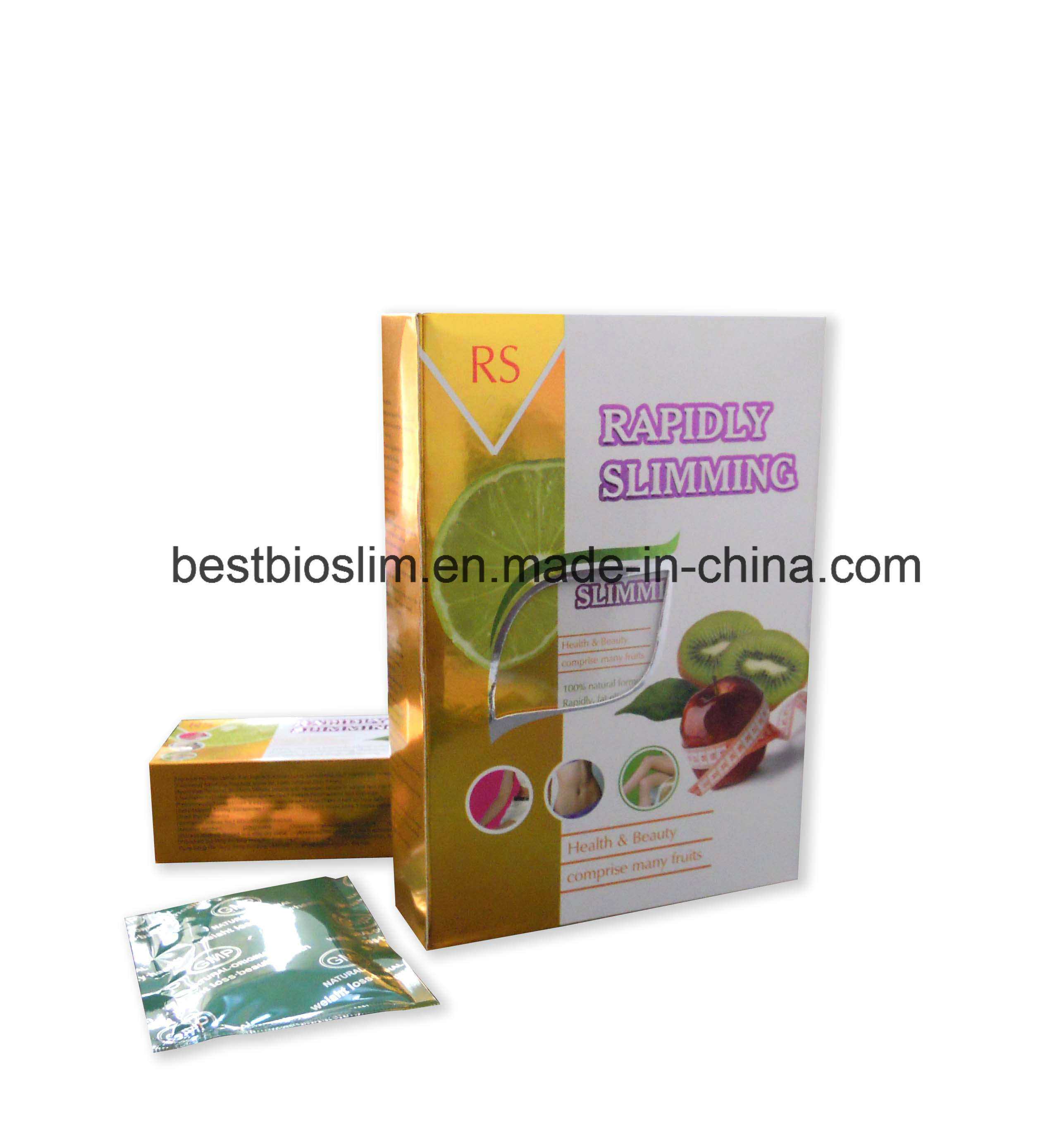 Original Rapidly Slimming Capsules Box Bottle Weight Loss Pearl Diet Pills