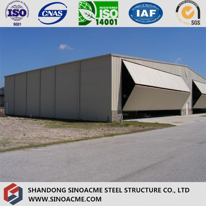 Professional Manufacturer Steel Structure Aircraft Hangar