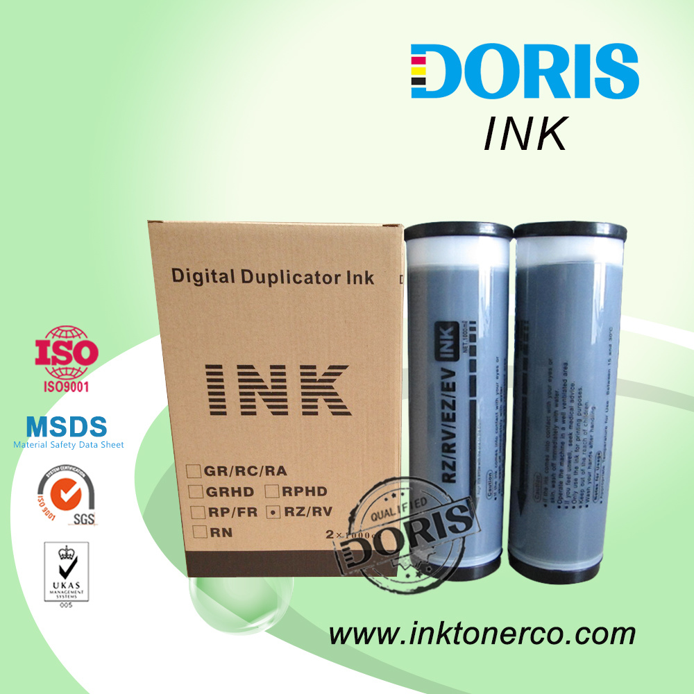 Rz/RV Duplicator Ink for Riso Spare Parts with Chip