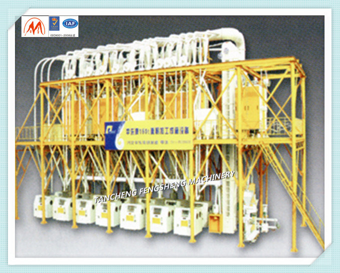 Wheat Corn etc Flour Milling Machine 6f22 Series Flour Mill
