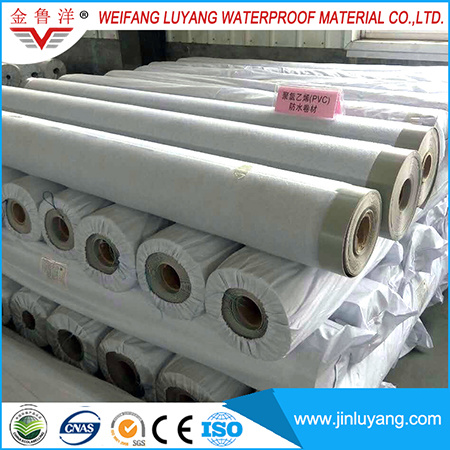 China Factory Supply Top Quality PVC Waterproof Roofing Membrane with UV Resistance