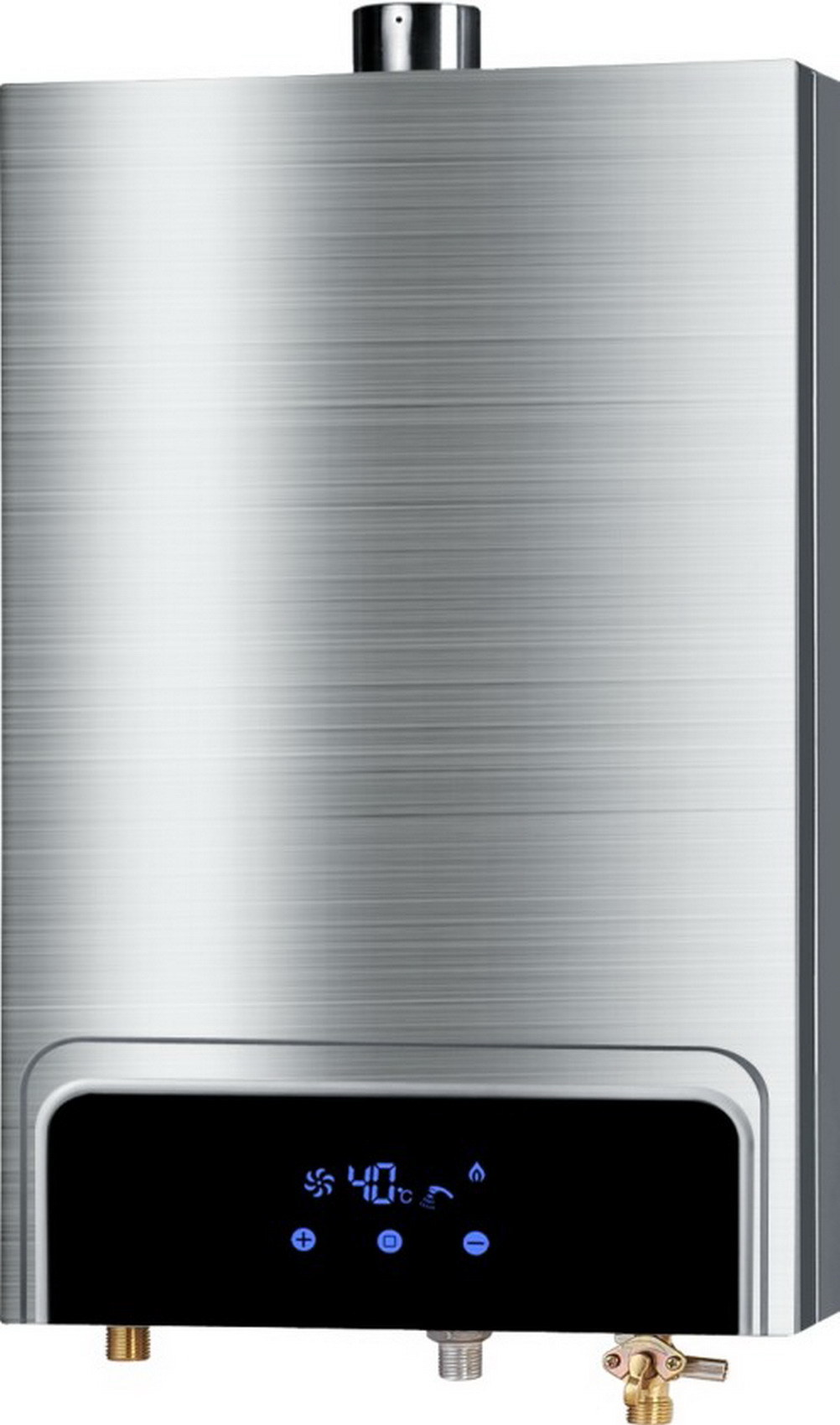 Forced Exhaust Gas Water Heater with Stainless Steel Shell Jsq--Hw-QC75 (8-12L)