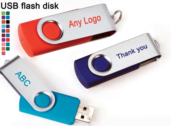 USB Flash Drive for Promotional Gift 32MB to 128GB
