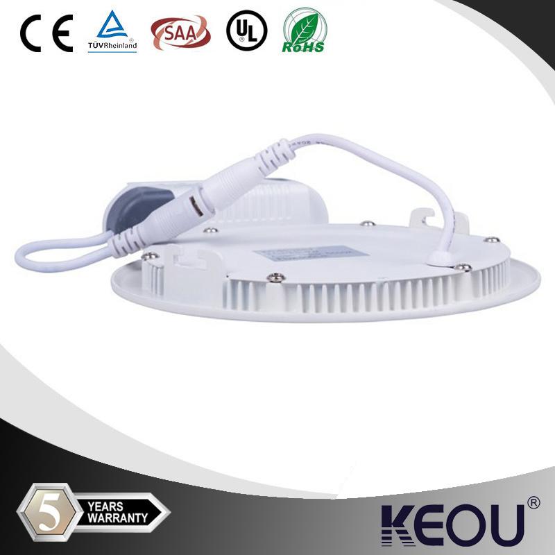 6W 12W 18W Round LED Panel Light