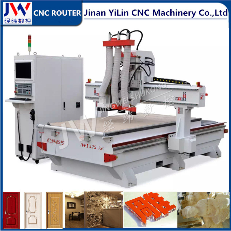 1325 Tool Change Woodworking Machinery for Panel Furniture Cutting Drilling Holes