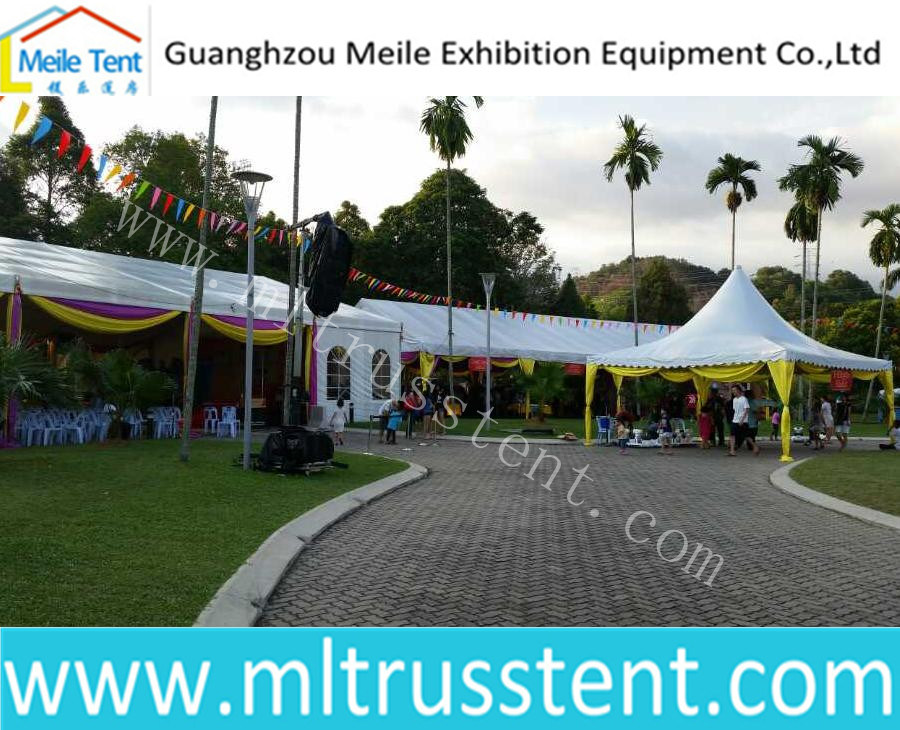 15X50m Malaysia Big Events Maquee Tent for Amusement Park