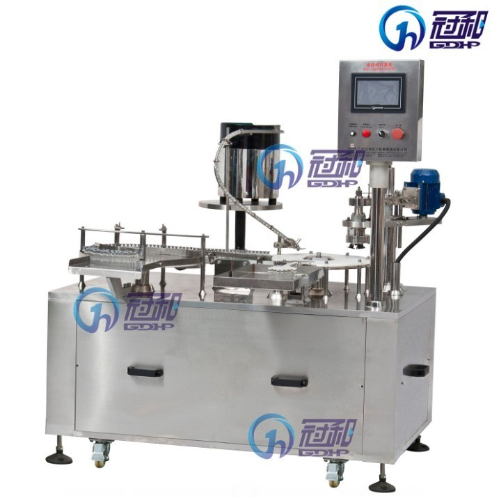 Automatic Crimping Sealing Machine for Bottles with Alumi Caps