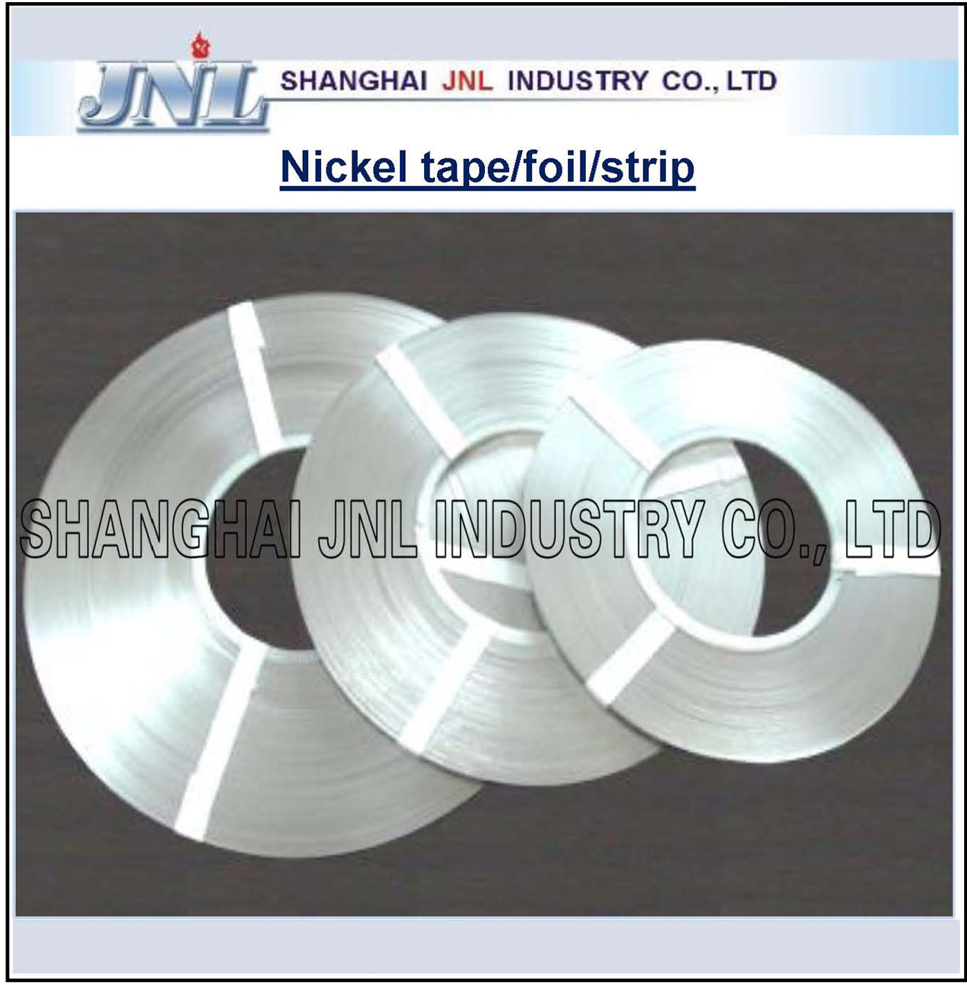 Nickel Tape