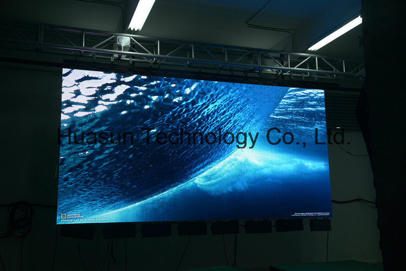 Creative Design Flexible LED Screen 6mm with Magnetic Mounting