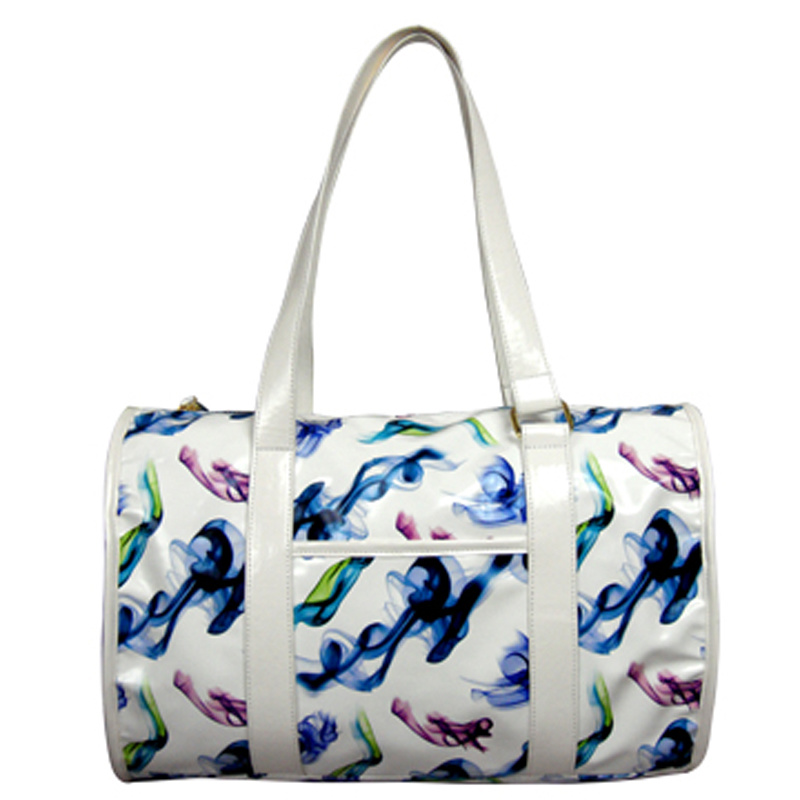 Colorful Printing PU Leather Bag for Ladies