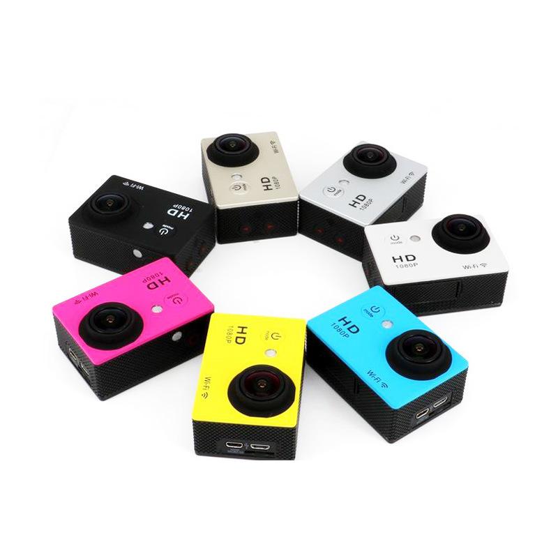 Cheapest 1080P WiFi Kamery Sportowe Sport Camera 2.4G Controller