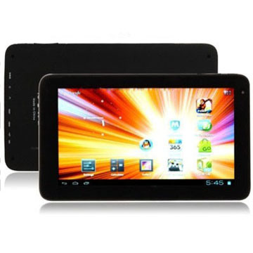 Tablet PC with WiFi & Mini HDMI Output, 1.3 Mega Pixels Front Camera