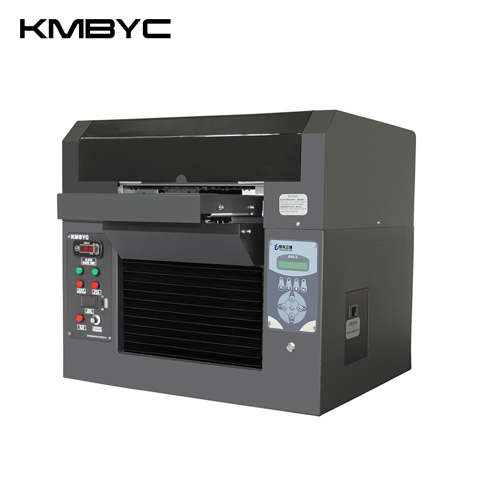 Kmbyc A3 Size 8 Colors Flatbed UV Printer
