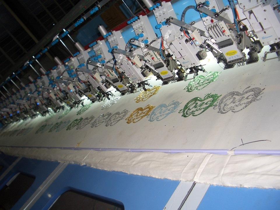 Mix Cording Embroidery Machine