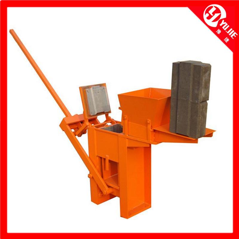 Qm1-40 Manual Block Machine, Manual Clay Block Making Machine