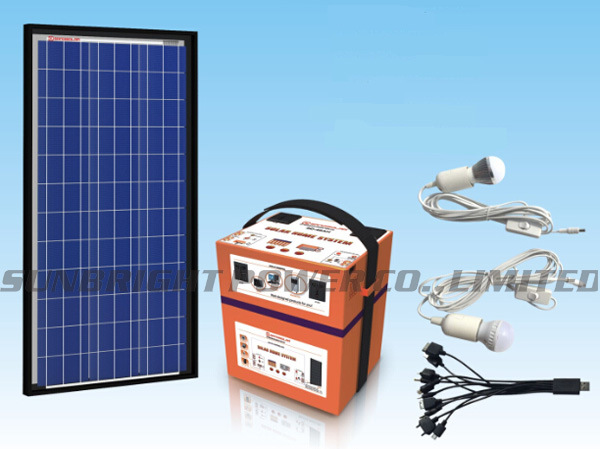 High Quality Rechargeable Deep Cycle Solar Power Generator System 20W 12V12ah
