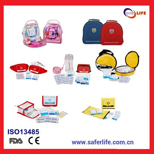 2015 OEM Popular Christmas Festival Center for Health Promotion Promotional Products for Health of First Aid Kit Keepsake