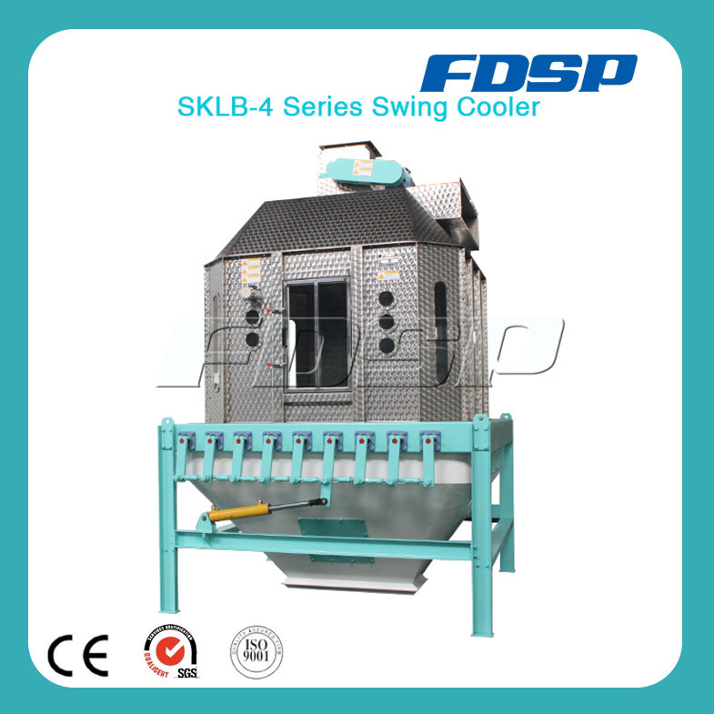Competitive Swing Cooler Machine for Wood Pellets