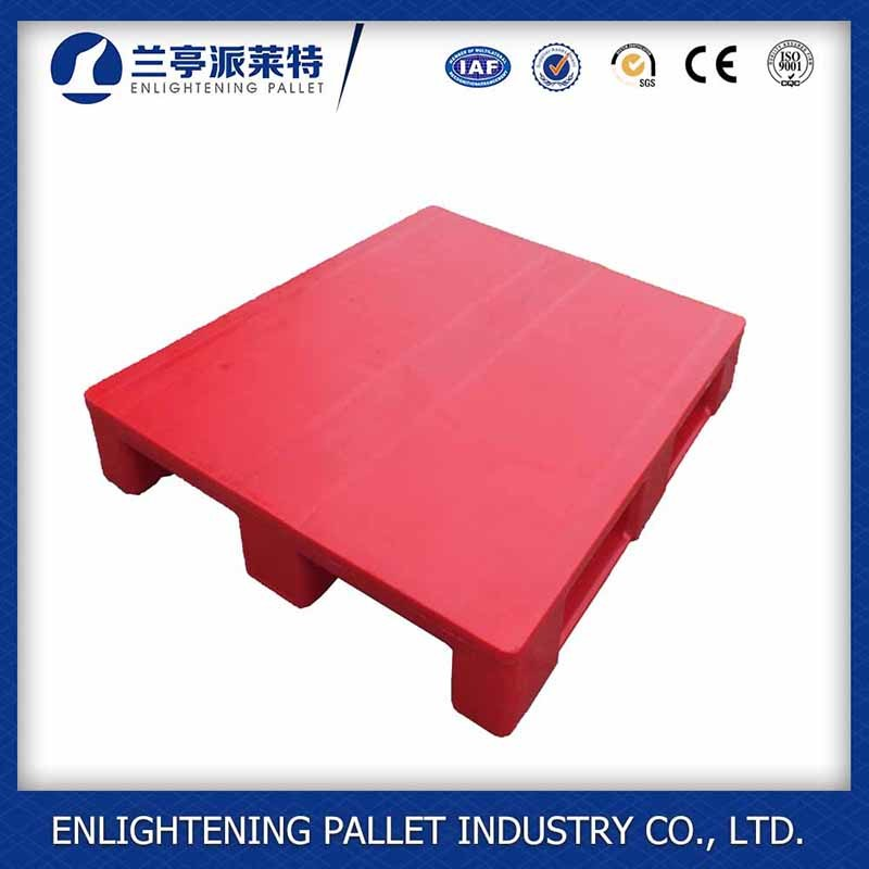 Heavy Duty Flat Single Sides Food Plastic Pallet for Sale