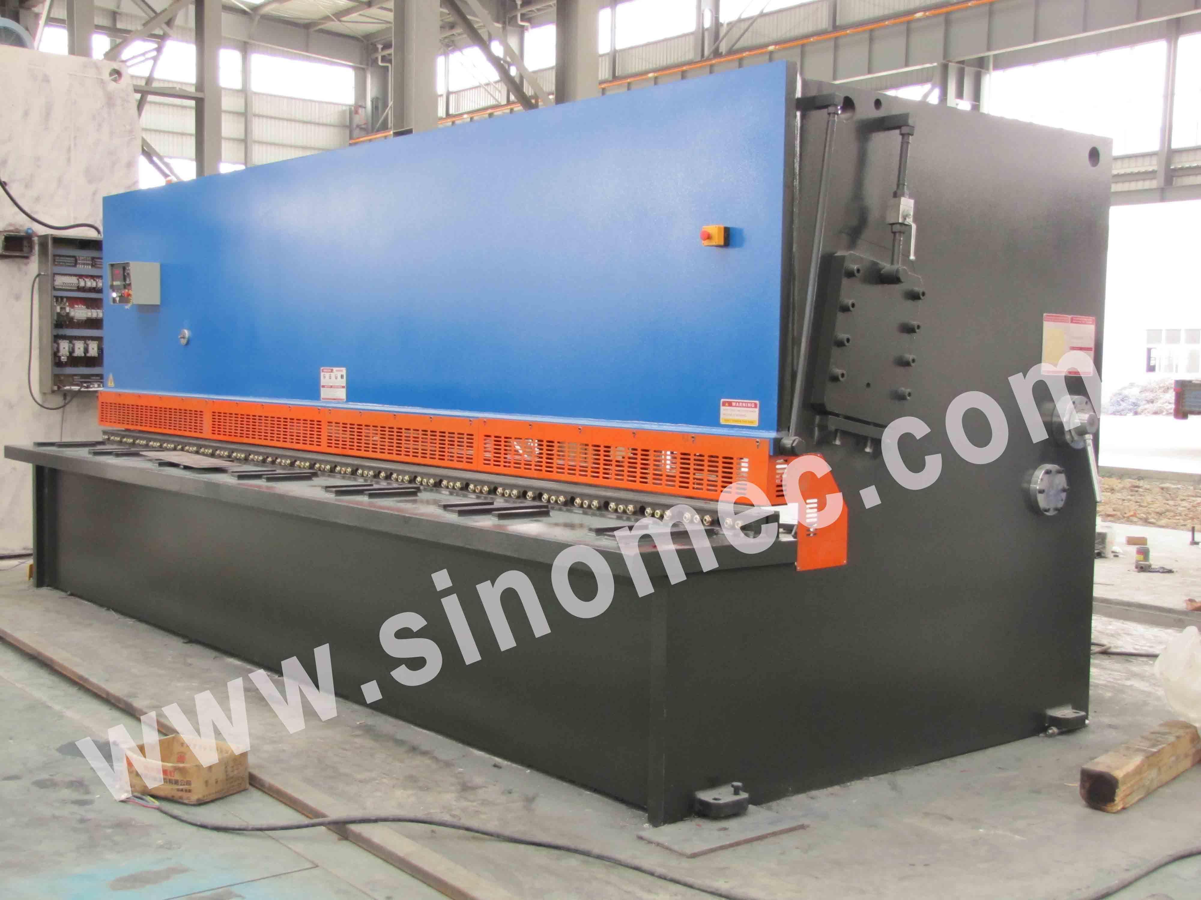Guillotine Shear / Cutting Machine / Hydraulic Shear Machine (QC12K-20X6000)