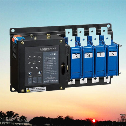 All-in-One 2 Stages Dual Power Automatic Transfer Switch (YMD1-125NA)