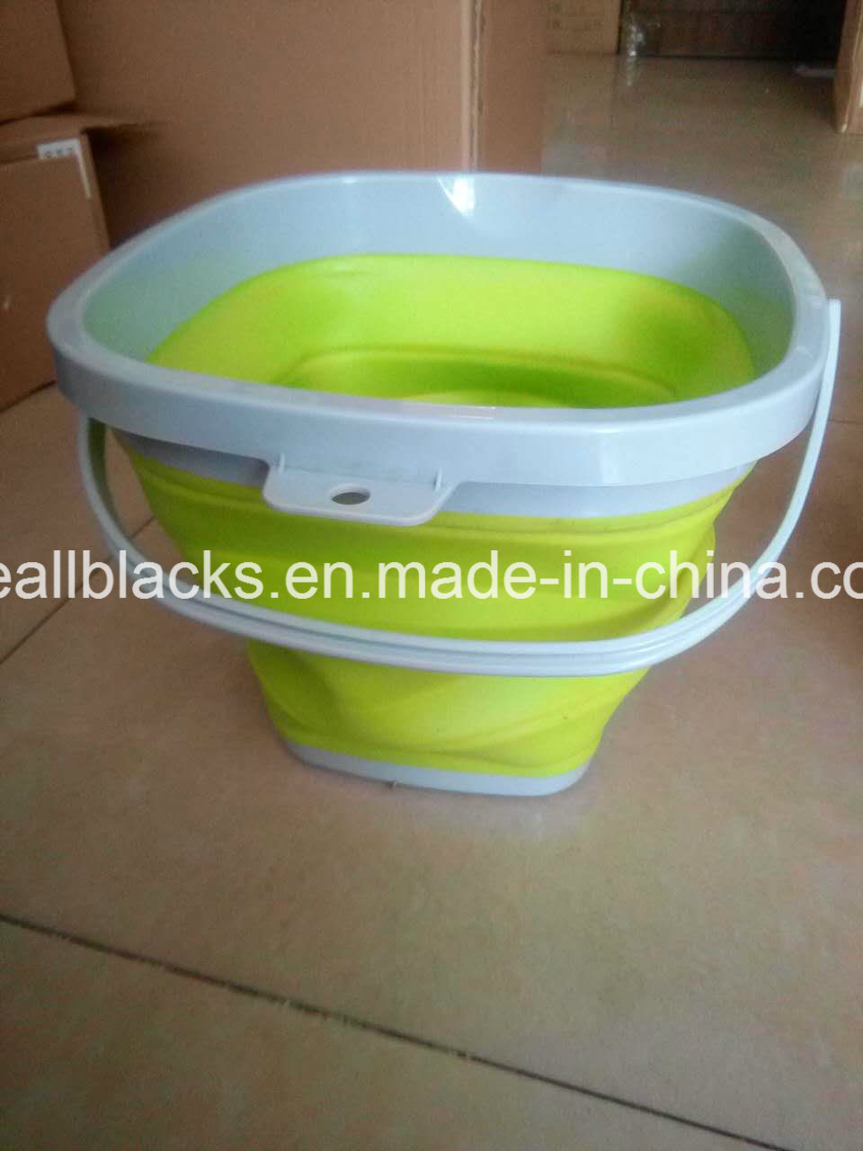 Silicone Folding Fish Bucket-Fashion Folding Fishing Barrel-Fishing Tackle-Fishing Tool