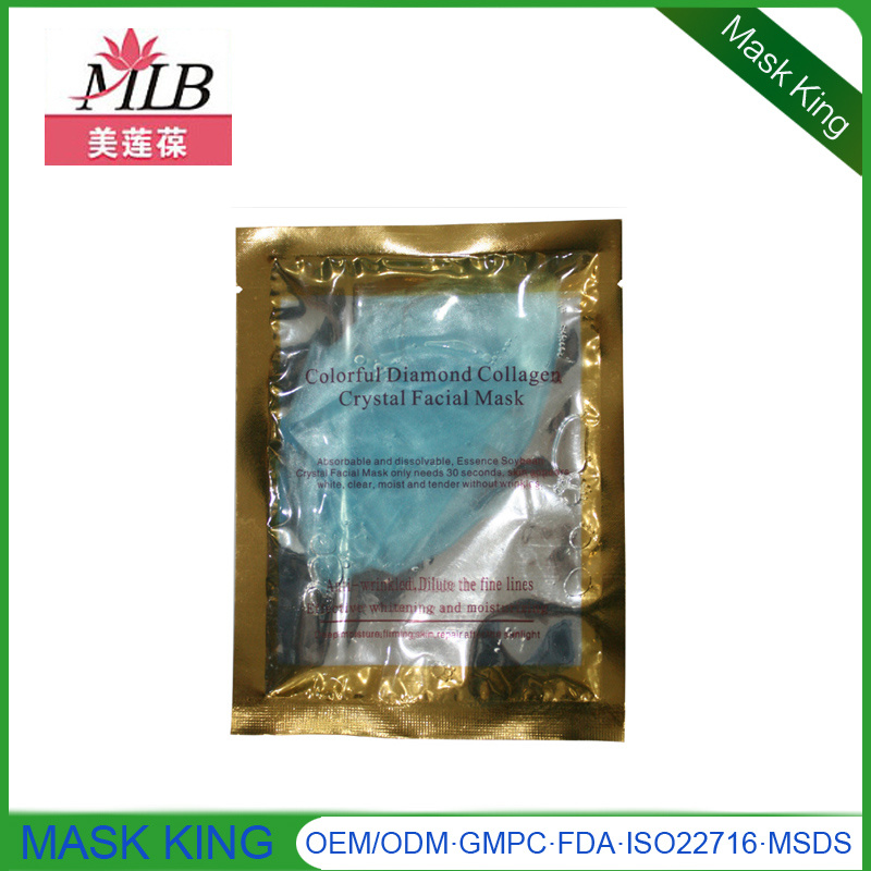 Silver Diamond Collagen Moisturizing Facial Mask