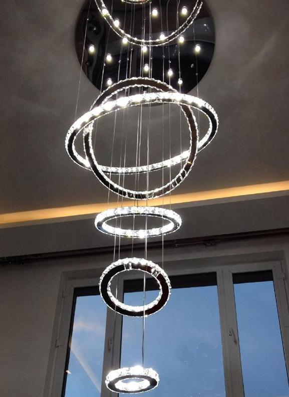 LED Crystal Ceiling Lamp (WH-3308Z)