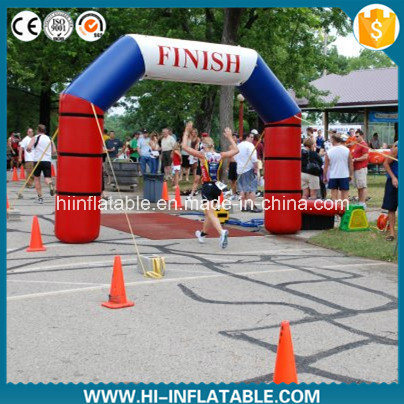 Custom Made Outdoor Usage Inflatable Finish Line Arch, Inflatable Racing / Running Arch No. Arh12301 for Sale
