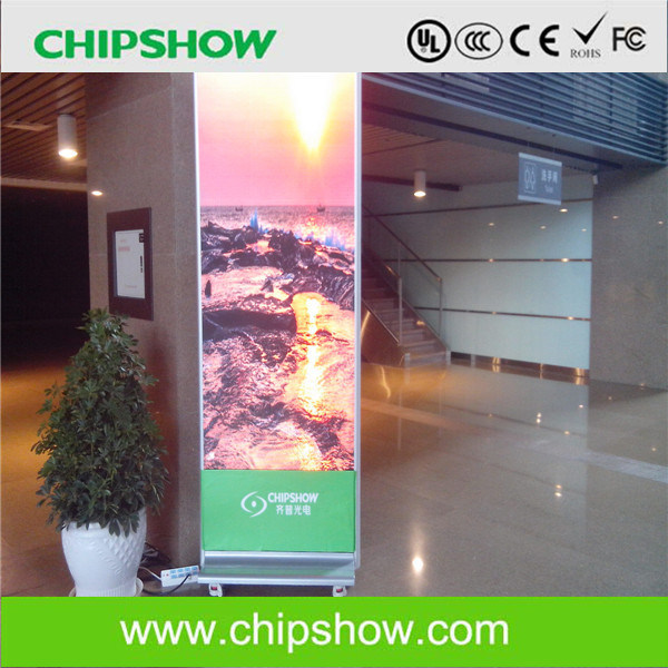 Chipshow AC2.5 LED Poster Display Indoor LED Advertising Screen