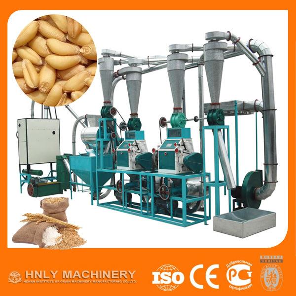 Hot Sale in Africa Wheat Flour Milling Machine