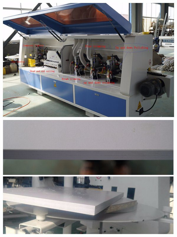 Semi-Automatic Straight Edge Banding Machine Fine Trimming
