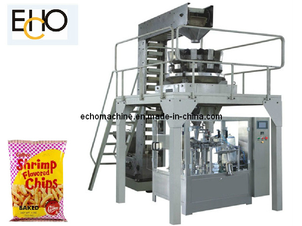 Puffed Food Pouch Packaging Machinery Mr8-200g
